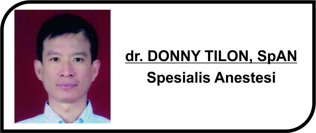 <p>Dokter Spesialis Anestesi</p>