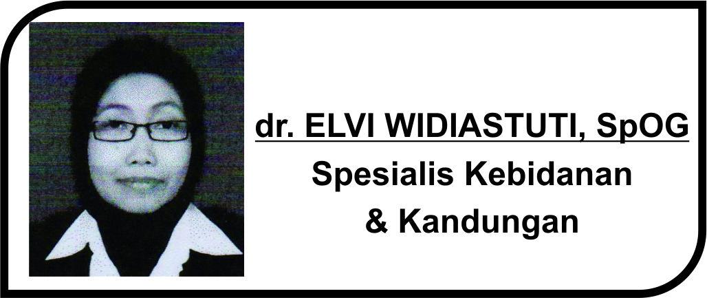 <p>Spesialis Kebidanan & Kandungan</p>  <p>Melayani:</p>  <p>1. Pasien Rawat Inap</p>  <p>2. Pasien Rawat Jalan</p>  <p><strong>Jadwal Prakik Poli :</strong></p>  <p>Senin -Jum'at:14.00 - 15.00 WIB</p>