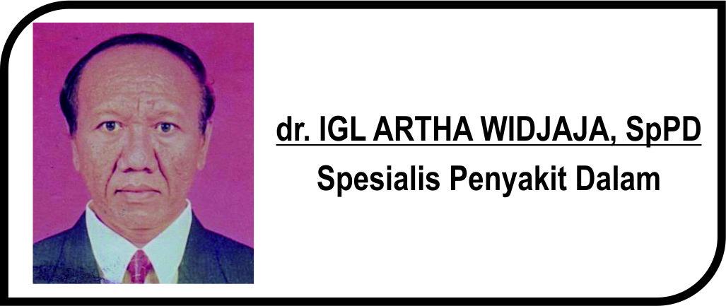 <p>Spesialis Penyakit Dalam</p>  <p>Melayani:</p>  <p>1. Pasien Rawat Inap</p>  <p>2. Pasien Rawat Jalan</p>  <p><strong>Jadwal Praktik Poli :</strong></p>  <p>Senin - Rabu: 09.00 - 10.30 WIB</p>