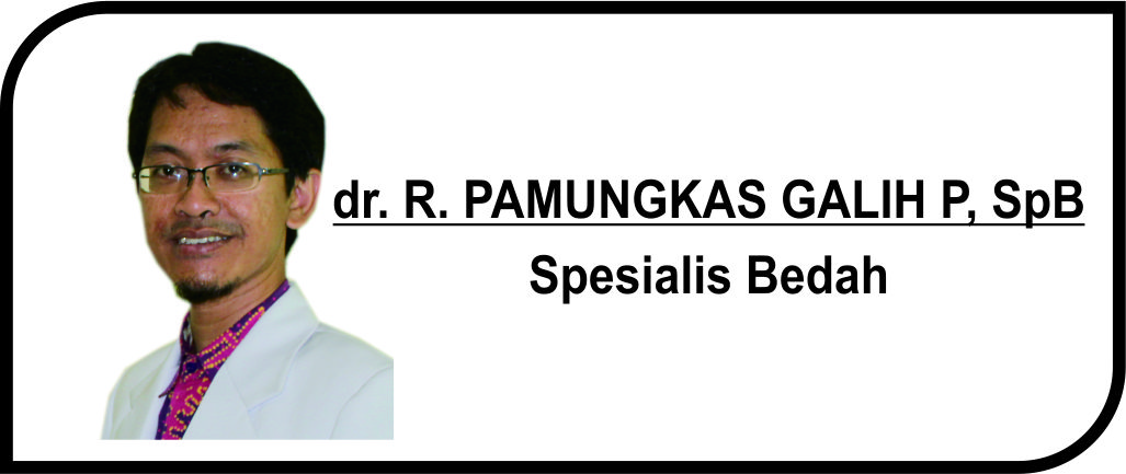 <p>Spesialis Bedah</p>  <p>Melayani:</p>  <p>1. Pasien Rawat Inap</p>  <p>2. Pasien Rawat Jalan</p>  <p><strong>Jadwal Praktik Poli :</strong></p>  <p>Senin - Jumat : 08.00 - 11.00 WIB</p>