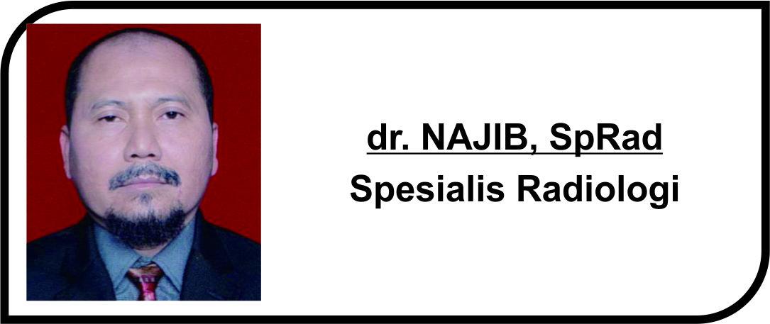 <p>Spesialis Radiologi</p>