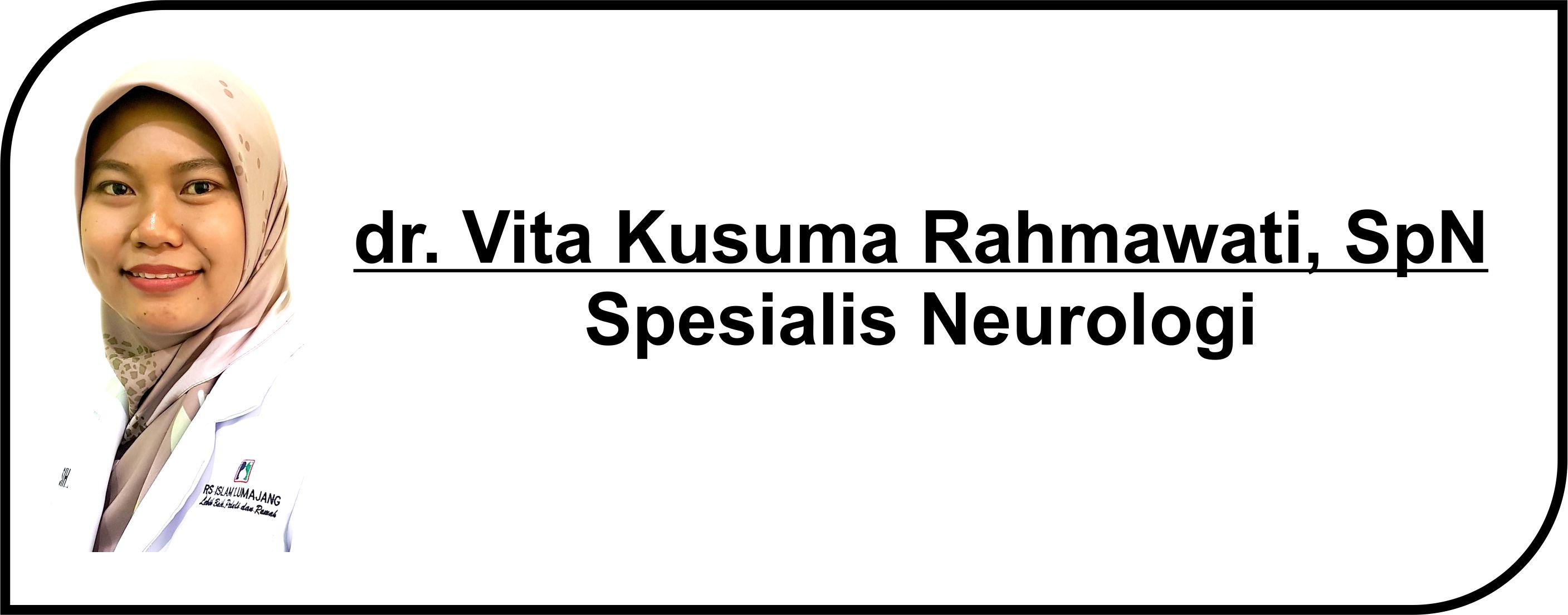 <p>Dokter Spesialis Neurologi</p>  <p>Melayani :</p>  <p>1. Pasien Rawat Inap</p>  <p>2. Pasien Rawat Jalan</p>  <p><strong>Jadwal Praktik Poli</strong> :</p>  <p>Senin - Kamis: 14.00 - 16.00 WIB</p>
