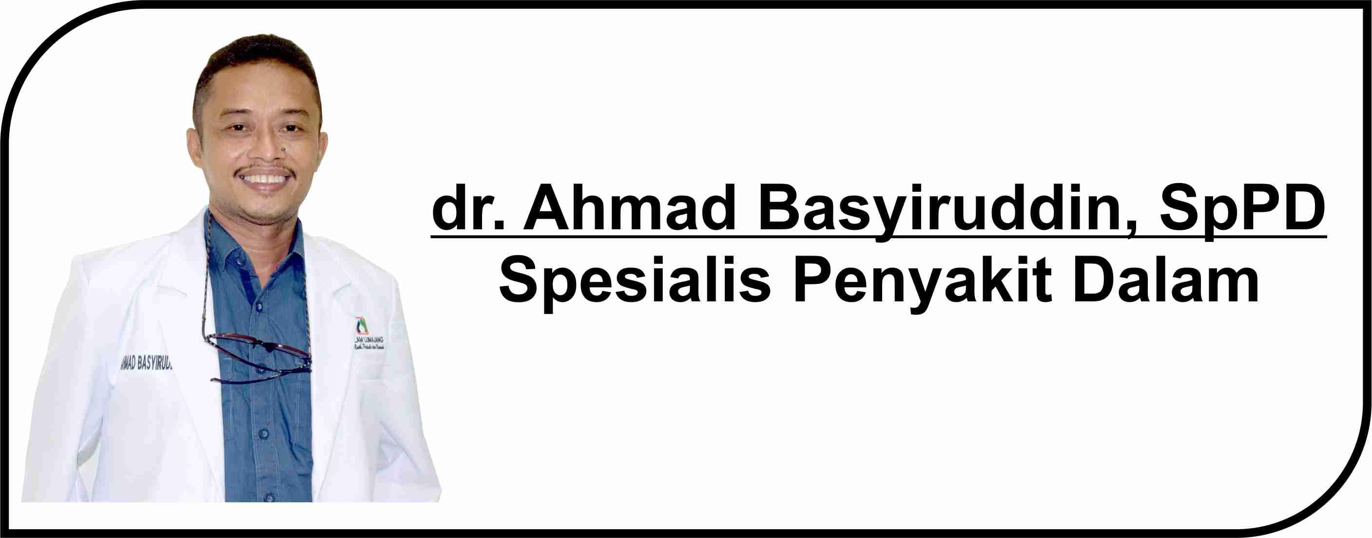 <p>Dokter Spesialis Penyakit Dalam</p>  <p>Melayani :</p>  <p>1. Pasien Rawat Inap</p>  <p>2. Pasien Rawat Jalan</p>  <p><strong>Jadwal Praktik Poli :</strong></p>  <p>Selasa - Jum'at : 15.00- 16.30 WIB</p>